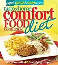 Image for Quick & Easy Comfort Food Diet Cookbook 'Slim Down with 380 Satisfying Recipes'