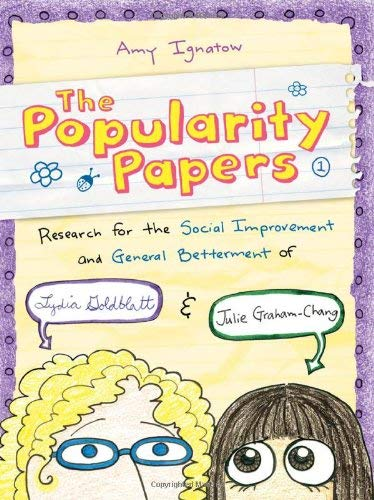 Image for Popularity Papers: Research for the Social Improvement and General Betterment of Lydia Goldblatt and Julie Graham-Chang
